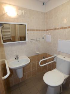 zrekonstruovaná koupelna, bezbariérový přístup